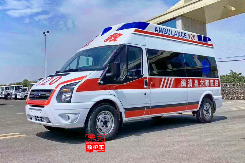 共轨柴油喷射系统_江铃福特新世代长轴救护车V348(国六排放重型柴油超人顶)